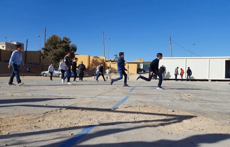 انشطة رياضية - مدرسة الشهداء كاباو