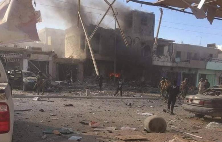 انفجار سيارة ملغومة في القائم - العراق