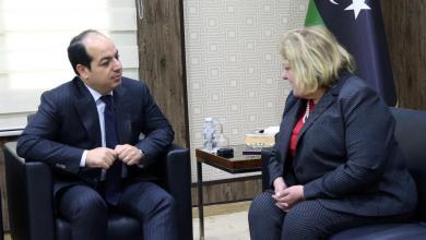 أحمد معيتيق وماريا ريبيرو - طرابلس