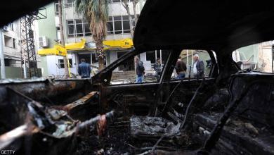 آثار تفجير سابق في دمشق - صور أرشيفية