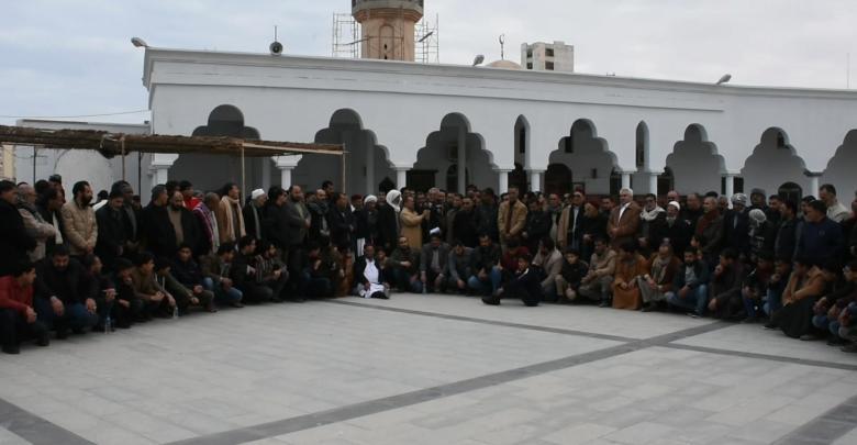 بيان دعم لوكيل وزارة الصحة في الحكومة المؤقتة - طبرق