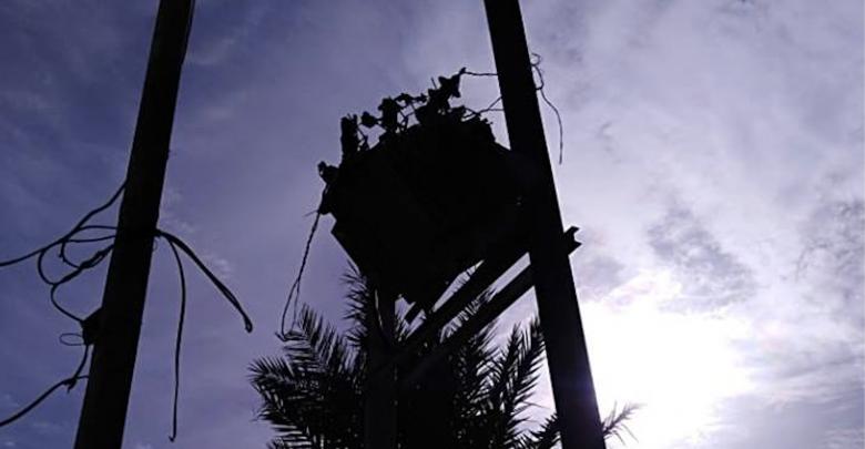 تضرر شبكة الكهرباء جراء الاشتباكات جنوب طرابلس