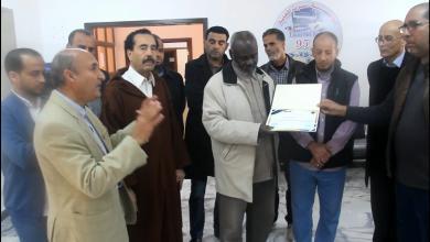 تكريم الطاهر ابوشيحة مدير الاذاعة المحلية - سرت