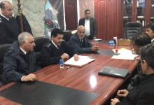توقيع مديرية الأمن عقد مع شركة محلية لتركيب 64 كاميرا - طبرق