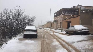 "Photo of الأمطار والثلوج تتحول إلى ""نكبة"" في ليبيا"