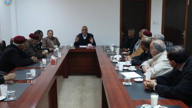 صورة لقاءات تشاورية للتكتل المدني الديمقراطي