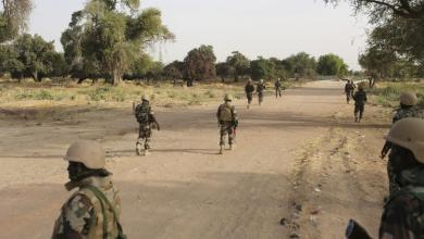 جنود نيجيريين