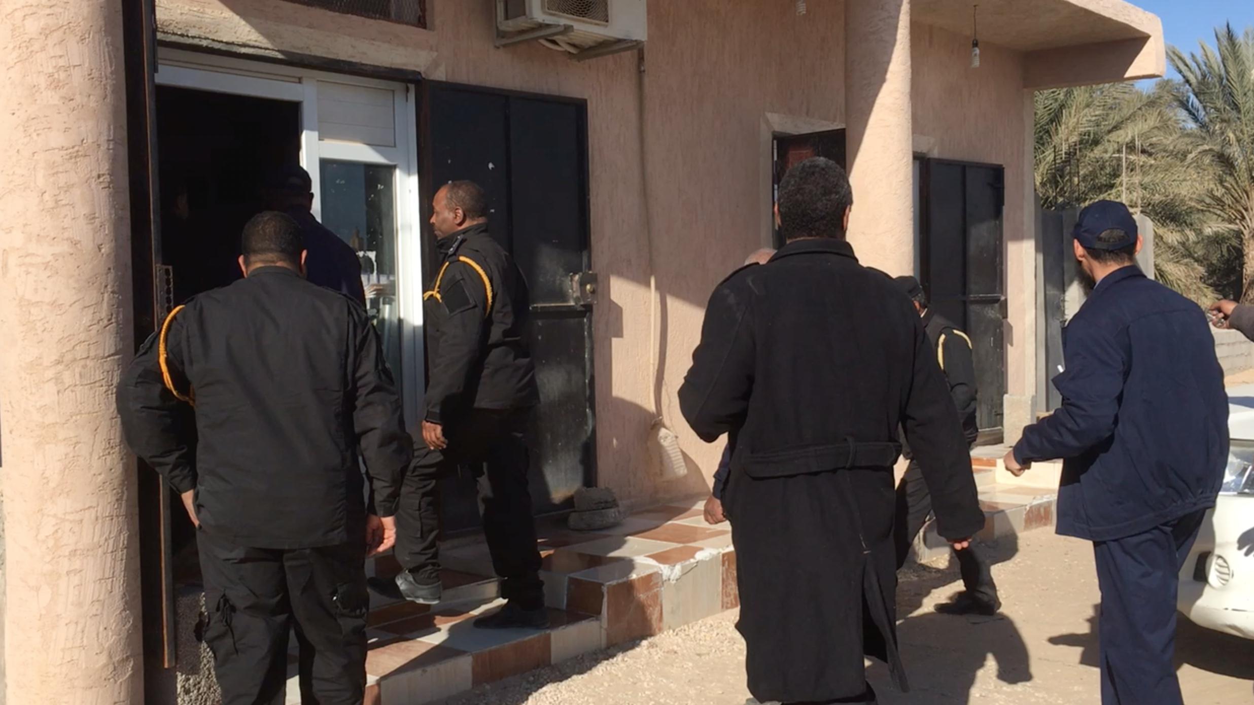حملة تفتيشية من قبل جهاز مركز الحرس البلدي درج