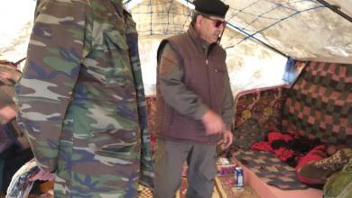 درياق يتفقد الجيش الوطني المرابط قرب الهلال النفطي