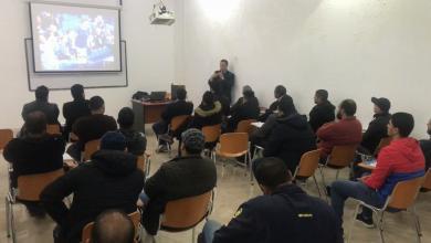 صورة مكتب بنغازي ينظم دورة للإدارة الرياضية