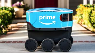 روبوت التوصيل ذاتي القيادة Amazo Scout