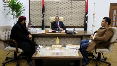 Photo of بحث حلول لمشاكل بلديتي بنغازي وسرت