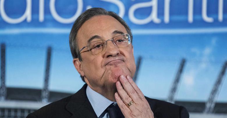 رئيس نادي ريال مدريد فلورنتينيو بيريز