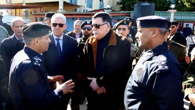 زيارة فائز السراج إلى مطار طرابلس ومنطقة قصر بن غشير