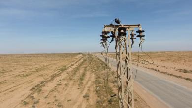 سرقة محطة كهرباء بئر دوفان جنوب زليتن