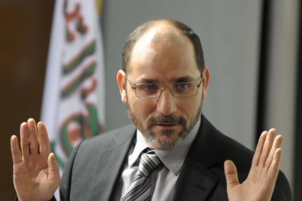 عبد الرزاق مقري رئيس حزب حركة السلم