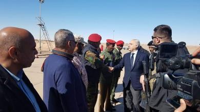 زيارة غسان سلامة لسبها
