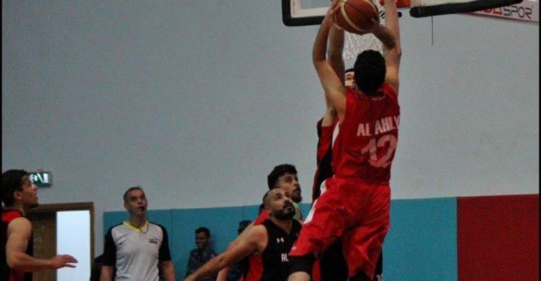 فريق المروج ضد الأهلي بنغازي بكرة السلة
