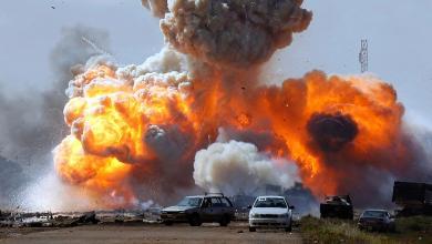 قصف الناتو في ليبيا