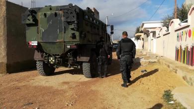 قوات أمنية تونسية - جلمة