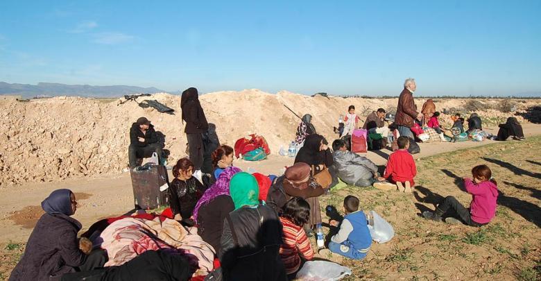 لاجئين سوريين على حدود الجزائر والمغرب