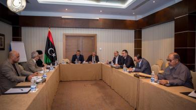 لجنة تنمية وتطوير المشروعات الاقتصادية والاجتماعية بالمجلس الأعلى للدولة - شركة الحديد والصلب