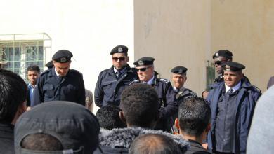 صورة لقاء أمني في أبوقرين بحضور مدير أمن مصراتة