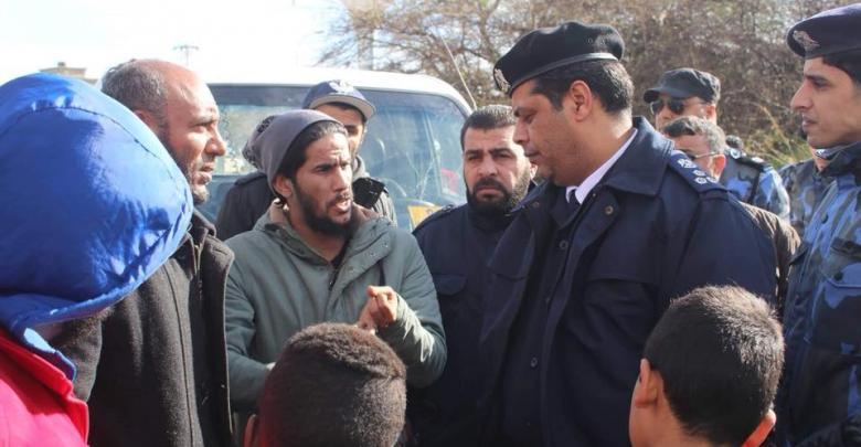 مدير مديرية أمن بنغازي العميد عادل عبدالعزيز - قاريونس
