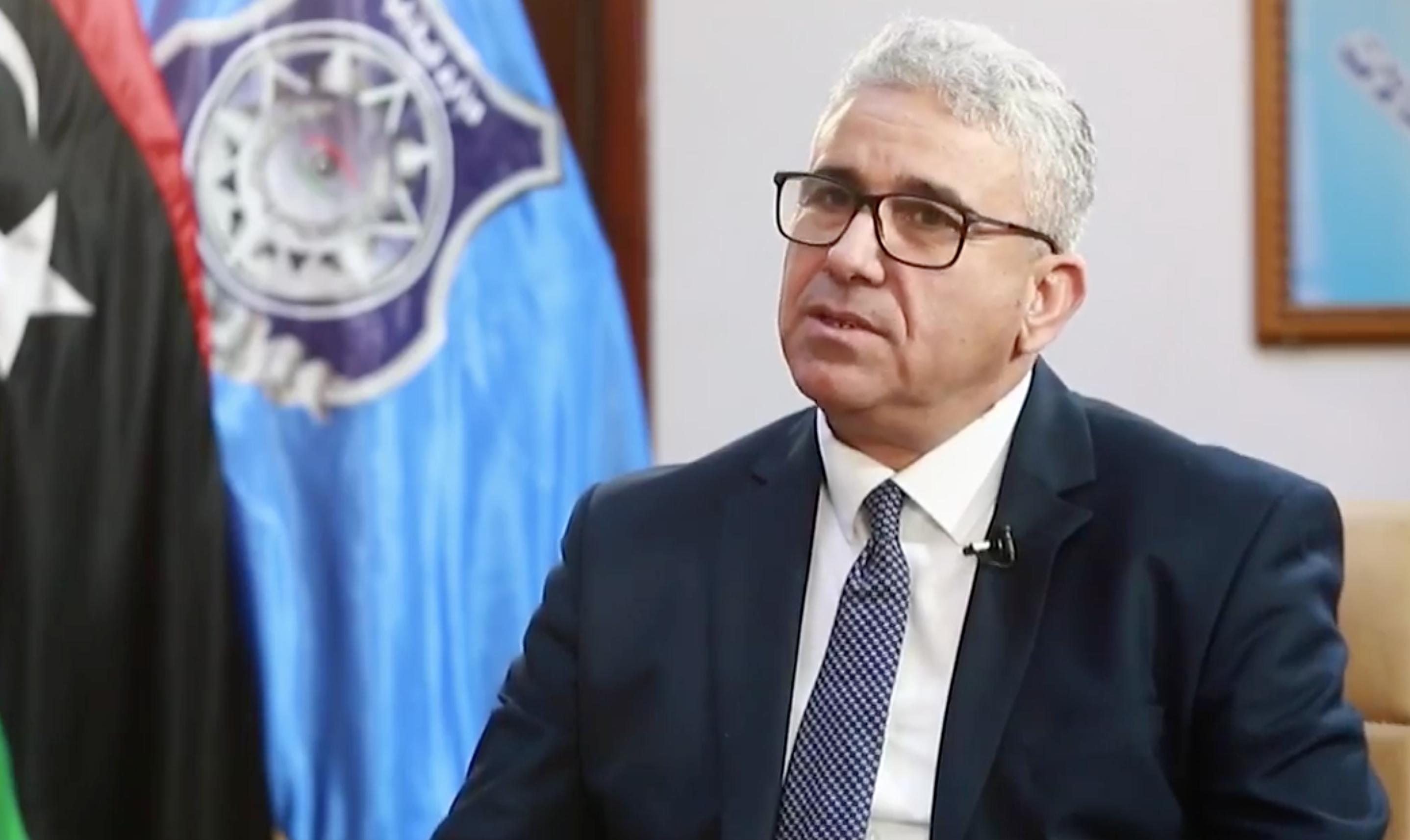 وزير الداخلية المفوض في وزارة الداخلية بحكومة الوفاق فتحي باشاغا