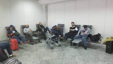 وصول مجموعة الأولى من الأطباء الأوكرانيي لمدينة طبرق