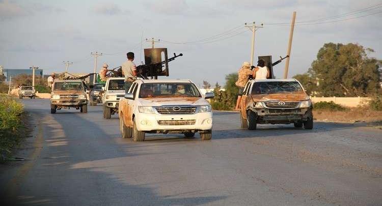 تشكيلات مسلحة جنوبي طرابلس - صورة أرشيفية