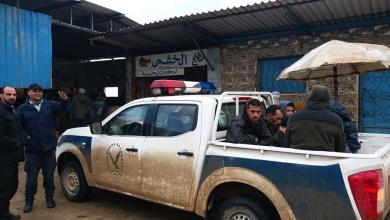 الحرس البلدي بنغازي في جولة تفتيشية على سوق البنكينة للأسماك