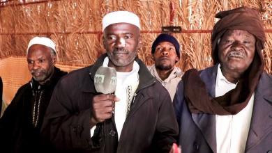 صورة اجتماع لرابطة أسر ضحايا مذبحة براك