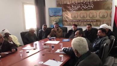 اجتماع بلدية طبرق وفروعها