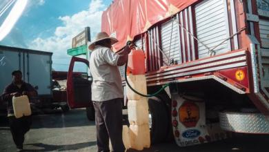 """صورة عقوبة غير متوقعة لـ""""لصوص البنزينة"""" في المكسيك. اقرأ لتعرف"""