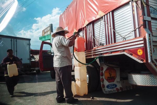 أزمة البنزين في المكسيك