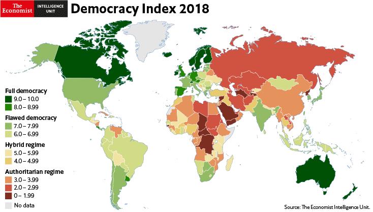 مؤشر الديمقراطية