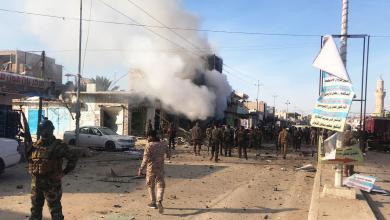 انفجار سيارة مفخخة - مدينة القائم العراقية