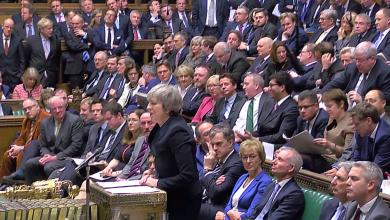 تيريزا ماي - البرلمان البريطاني
