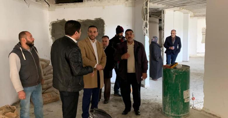 """الوكيل العام لوزارة الصحة يزور """"مستشفى الحروق والتجميل """" طرابلس"""
