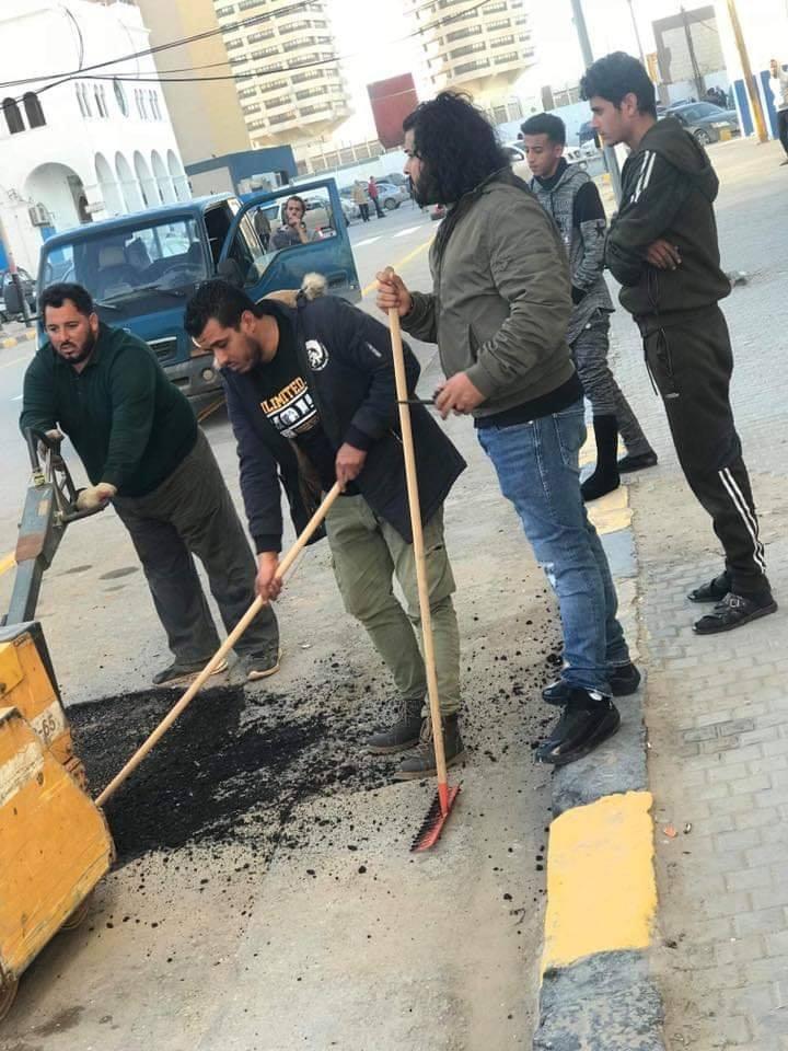 حملة تطوعية واسعة في طرابلس
