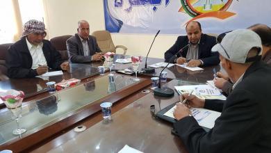 Photo of بلدية اجخرة تجتمع مع اللجنة السياحية