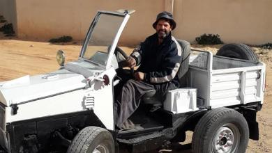 "Photo of مواطن ""ليبي"" يصنع ""سيارة"" فريدة"