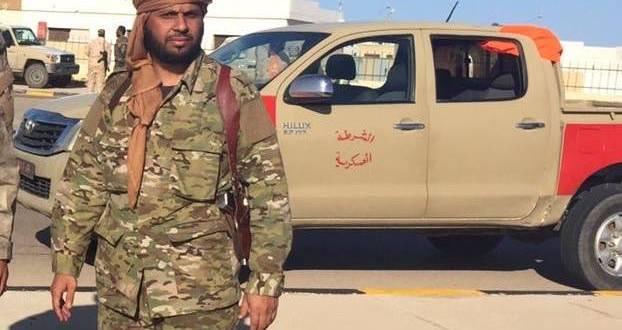 آمر الكتيبة 128 مشاة الرائد حسن معتوق الزادمة