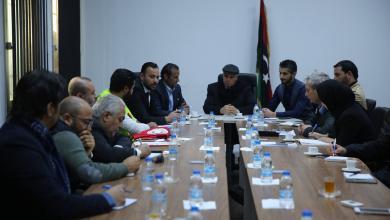 جلالة يبحث تقديم الخدمات العاجلة للنازحين في جنوب طرابلس
