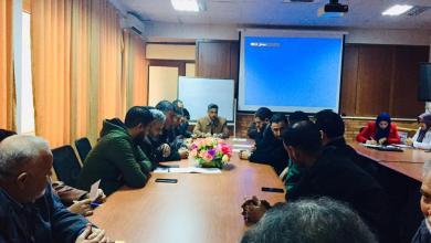 Photo of بلدية صبراتة تجتمع مع إدارة المستشفى التعليمي
