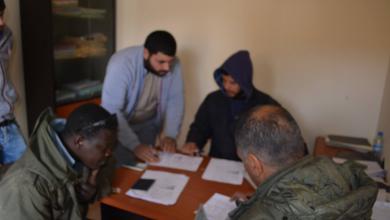 """Photo of تسجيل """"العمالة الأجنية"""" في مديرية أمن """"يفرن"""""""