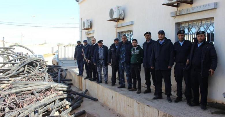 عناصر مركز شرطة سيدي خليفة - بنغازي
