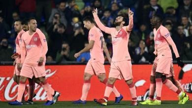 "Photo of برشلونة يفوز ""بصعوبة"" على خيتافي"