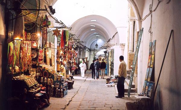 سوق العطارين تونس العتيقة